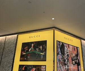aesthetic, bright, and gucci image