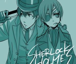 arthur, black butler, and ciel phantomhive image