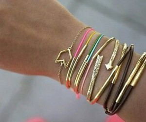 bracelets and diy image