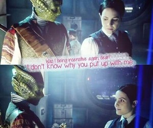 love, vastra, and doctor who image