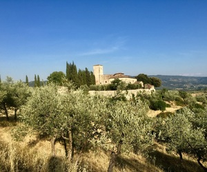 castle, chianti, and travel image