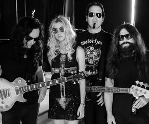 alternative, black and white, and the pretty reckless image