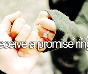 b, before i die, and ring image