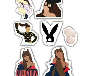 stickers and ariana grande image