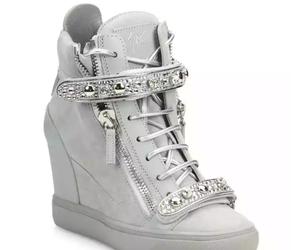 wedge sneakers image