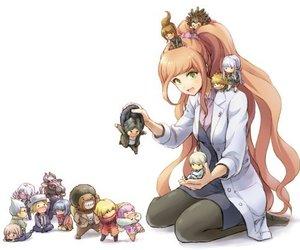 danganronpa and anime image
