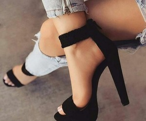 fashion, girl, and high heels image