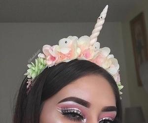 makeup and unicorn image