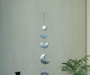 crescent moon, etsy, and moon phases image