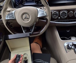 car, mercedes, and cool image
