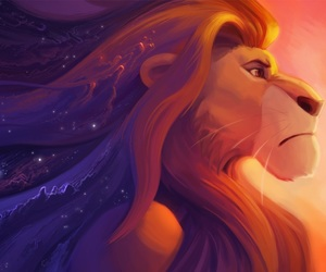 disney, lion king, and art image