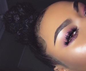 eyebrows, eyelashes, and babyhair image