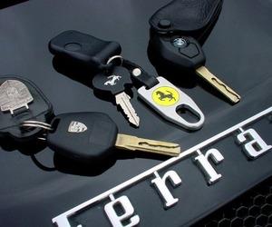 car, key, and luxury image