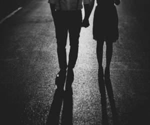 couple, road, and love image