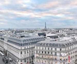 paris, sky, and love image