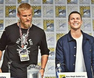 comic con, vikings, and alexander ludwig image