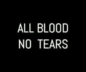 blood, aesthetic, and tears image