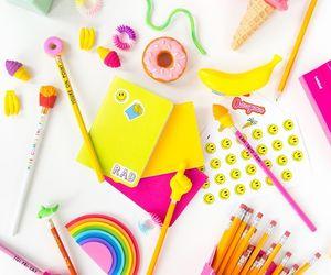 school and school supplies image