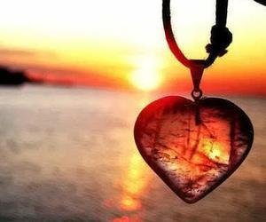 amor, atardecer, and cristal image
