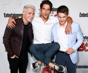 colton haynes, tyler posey, and cody christian image