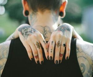 goals, tatto, and hands image