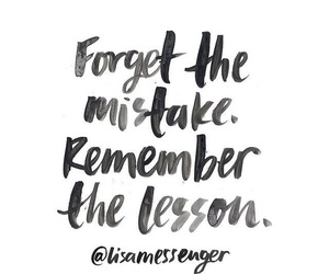 quotes, lesson, and mistakes image
