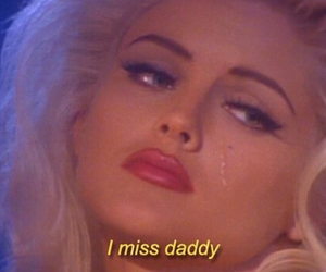 cry, tears, and sugar daddy image
