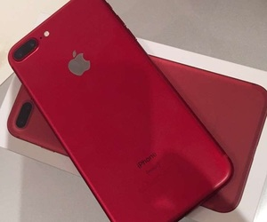 iphone and red image