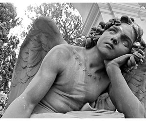 art, cemetery, and poetry image