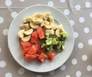 banana, colors, and fruit image