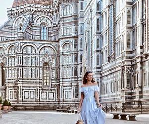 travel, dress, and florence image