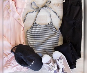 chic, outfits, and style image