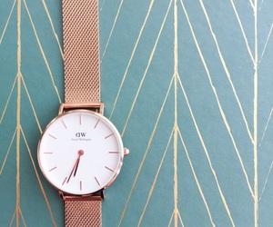 clock, fashion, and briwn image