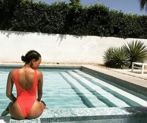 poolside, summer vibes, and karrueche image