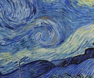 wallpaper, art, and van gogh image