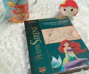 book, mermaids, and la petite sirene image