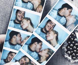couple, polaroids, and cute image