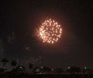 4th of july, fireworks, and night image