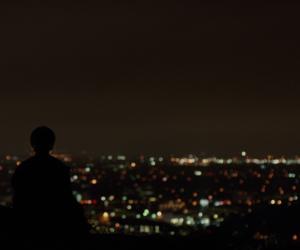 lights, movie, and sky image