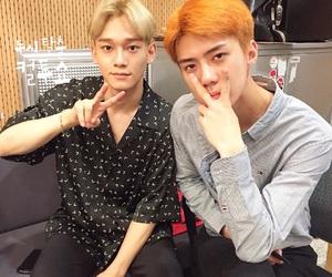 Chen, exo, and sehun image