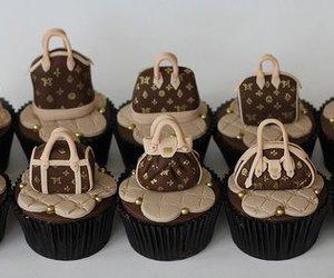 cupcake, bag, and chocolate image