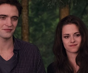 twilight, couple, and vampire image