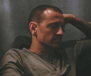 chester bennington and linkin park image