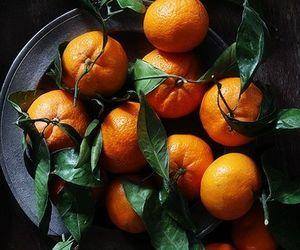 fruit, orange, and green image