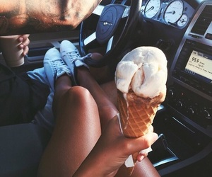 cream, summer nights, and explore image