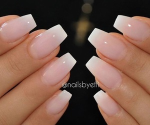 french, manicure, and pink image