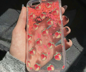peach, case, and aesthetic image