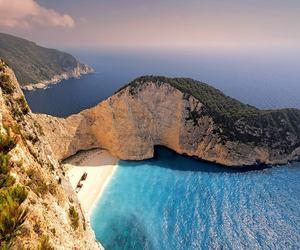 beach and Greece image