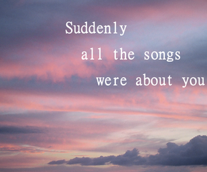 quote, song, and love image
