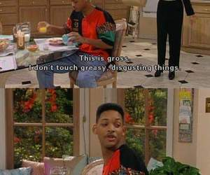 will smith, funny, and fresh prince of bel-air image